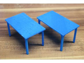 simple table (6 persons) [playfab 181001, playmobil compatible]