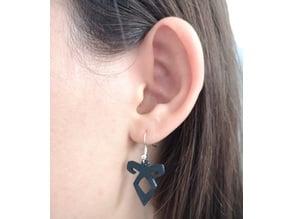 Shadowhunters Runes Earrings