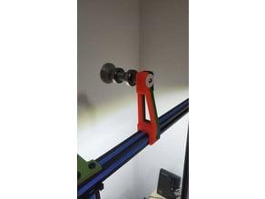 Filament Spool Holder Tevo Tornado Top (for all 2020 Aluminium profiles)