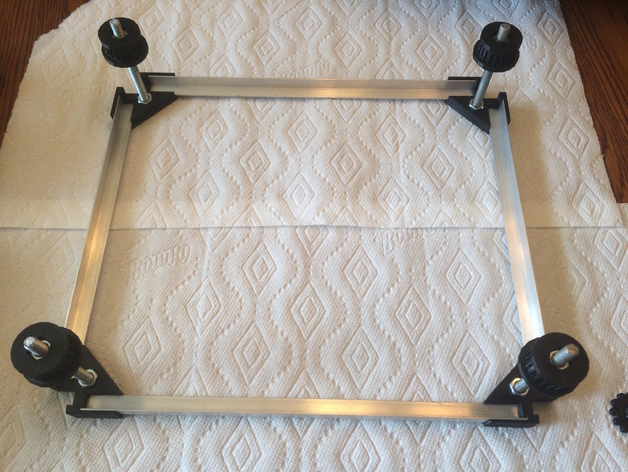 Z Adjustable Bed for K40 Chinese Laser by brianvanh