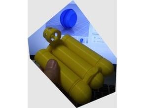 26 x 30 mm Science Probe / Torpedo (Pluggable Length)