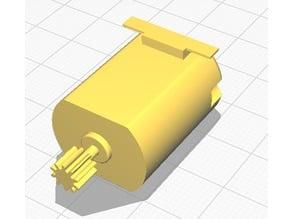 Small DC motor model