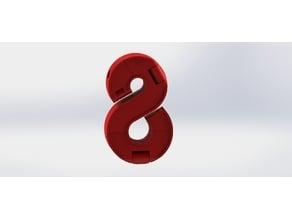 Number Robot - #8