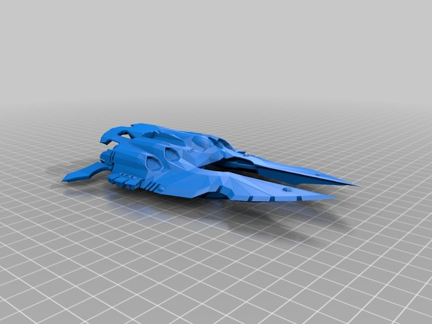 epic cobra eldar 3d