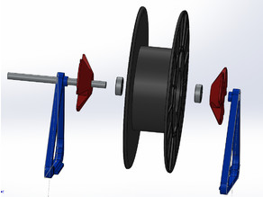 Universal Smooth Motion (Multi) Filament Spool Holder