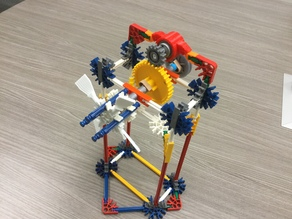 K'Nex Windmill components