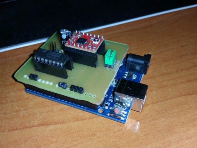 Arduino UNO shield for Horus Firmware on ciclop 3D Scanner