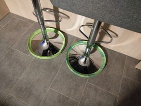 Bar stool protection against vacuum robot