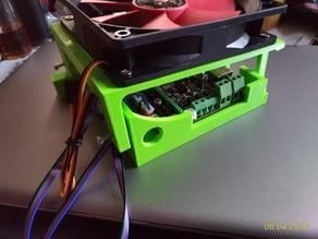MKS GEN L V1.0 holder - profile 2020, fan 120mm - V2