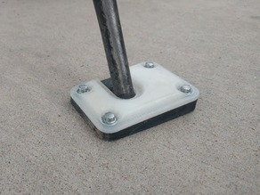Honda XR650L Kickstand Pad