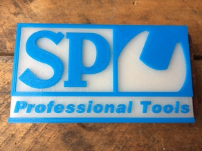 S.P. Tools Logo Badge / Magnet
