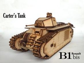 Lasercut B1 bis