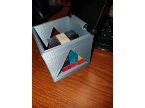 Puzzle Cube Container
