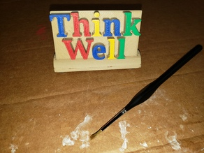 Think Well Desk Decoration And Paperweight