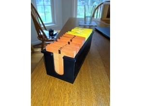 Tea Caddy, holds ~30 teabags