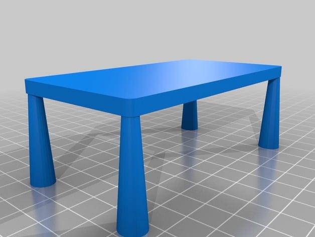 Ikea Mammut Rectangular Kids Table