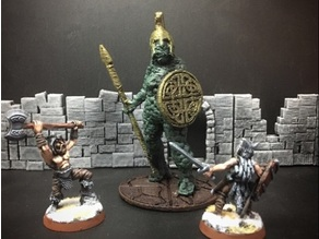 Topiary Golem (Amazon) (28mm/Heroic scale)