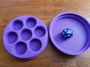 Small Dice holders and dice tray
