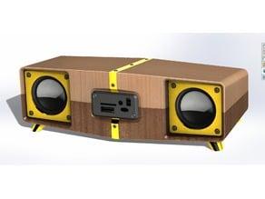 Stereo Speaker for Mp3 Player Module