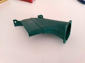 Controller board fan duct
