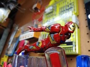 Flying Iron Man Figure