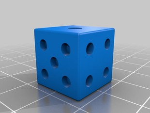 Normal Size 6 Sided Die or Dice