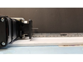 MicroLux Jigsaw mount for MPCNC - Needle Cutter