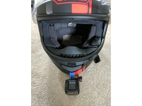 "The ""Jimmy Hill"" GoPro session helmet chin mount"