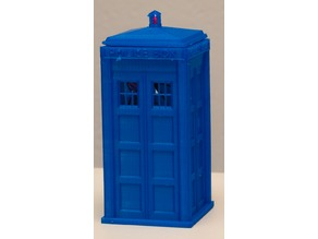 TARDIS Raspberry Pi Case with removeable Top and light