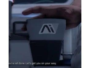 Mass Effect Andromeda Shotglass