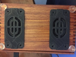 Grill for Adafruit Speaker Set