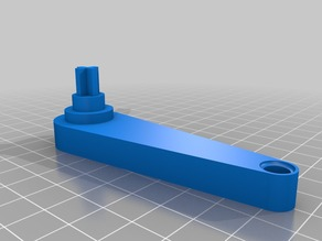 Crank Handle for Fully Printable PCB Vise
