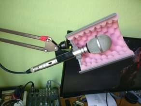 Universum Microphone Reflection Shield