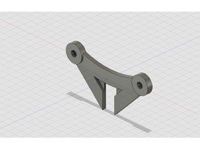 Spool Support for Plywood Frame Prusa I3 Clone