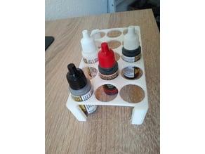 Einfacher Farbhalter zum Transportieren/ simple Paint Rack for transportation