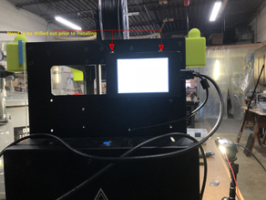 "OctoPrint Raspberry Pi Rig 3.5"" PiTFT Touch Display for Lulzbot Mini"