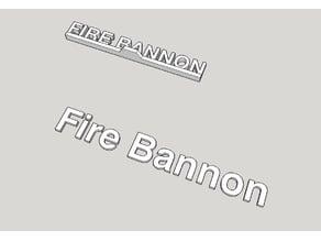 Fire Bannon