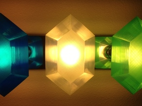 Customizable Rupee Lamp Shade