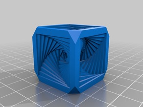 Spiral Cube Softened