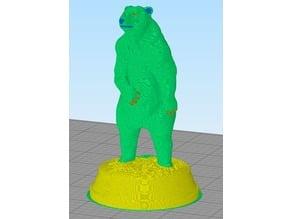 Brown Bear (Multi-Material / Multi-Color)