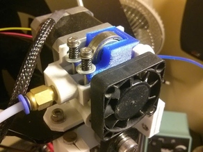Idler For Short Bolts for Airtripper Bowden Extruder
