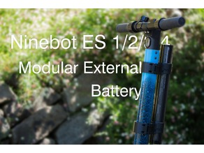 Ninebot ES1/2/3/4 Modular External Battery Mount