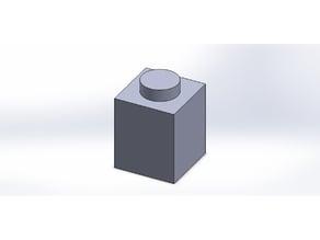 LEGO 1x1 brick