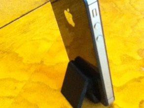 I phone stand - vertical