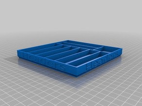Header tray (half height, remix)
