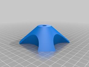 My Customized Parametric universal spool holder 95mm