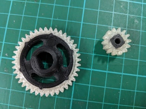 OpenRC F1 Dual Material Spur & Pinion Gears