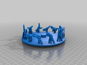 BOXOI (3D Zoetrope DIY Kit) 3D Print Files