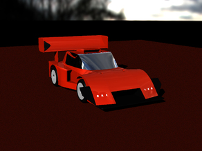 "UPDATE - Carisma GT24R Custom Body    Mod. ""Stalker"""