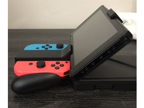 Joycon grip to screen mount